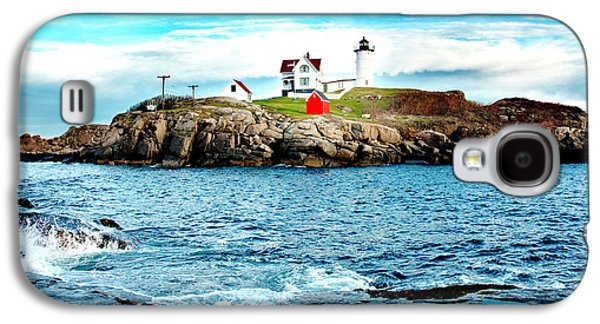 Cape Neddick Lighthouse Galaxy S4 Cases - And Yet Another Galaxy S4 Case by Greg Fortier