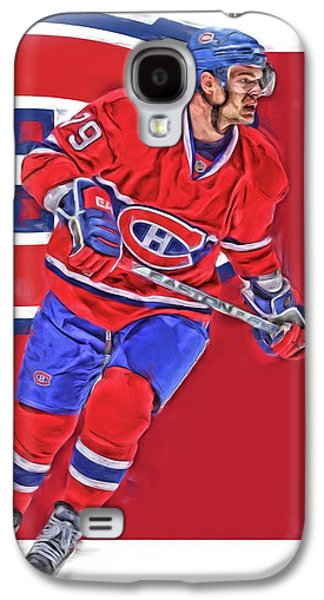Andrei Markov Montreal Canadiens Oil Art Galaxy S4 Case by Joe Hamilton