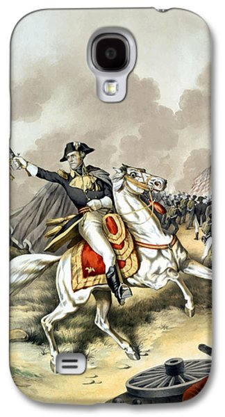 Presidential Galaxy S4 Cases - Andrew Jackson At The Battle Of New Orleans Galaxy S4 Case by War Is Hell Store