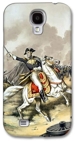 Jackson Galaxy S4 Cases - Andrew Jackson At The Battle Of New Orleans Galaxy S4 Case by War Is Hell Store