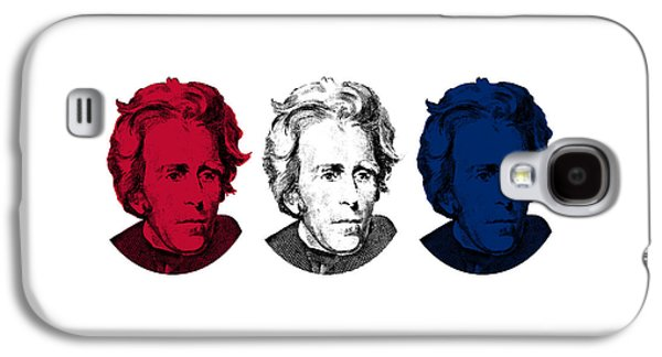 U.s Army Galaxy S4 Cases - Andrew Jackson Red White and Blue Galaxy S4 Case by War Is Hell Store