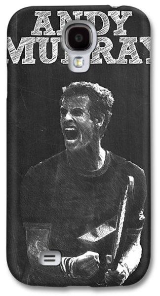 Andy Murray Galaxy S4 Case by Semih Yurdabak