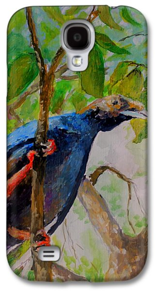 Angel Bird Of Moluccas Galaxy S4 Case by Jason Sentuf