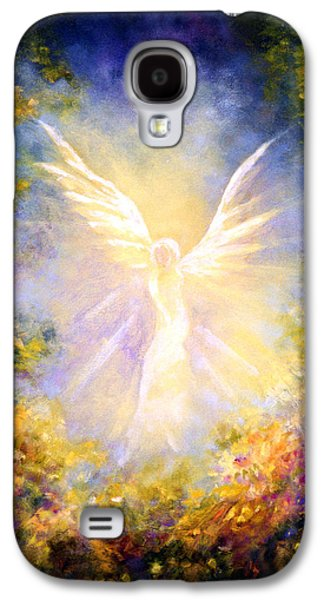 Angel Descending Galaxy S4 Case by Marina Petro