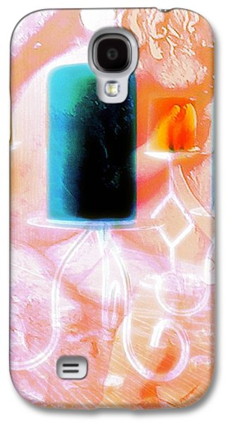 Candle Stand Galaxy S4 Cases - Angel Exposed2 Galaxy S4 Case by Jennifer McGuire