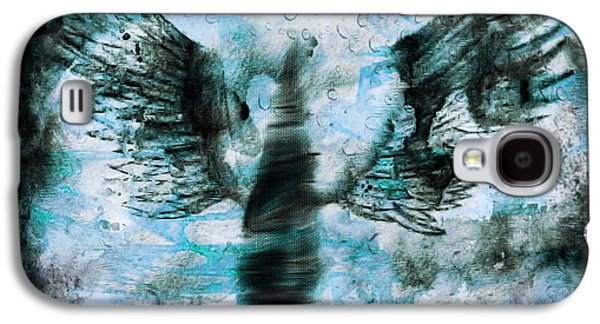 Seraphim Angel Drawings Galaxy S4 Cases - Angel IV Galaxy S4 Case by J M Lister