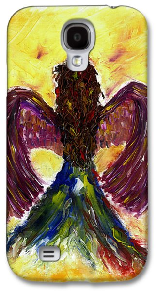 Seraphim Angel Drawings Galaxy S4 Cases - Angel Galaxy S4 Case by Leena Kewlani