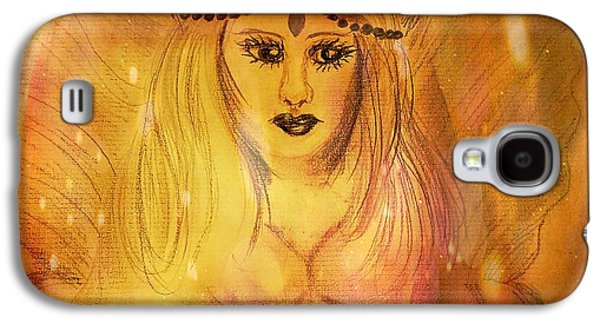 Angel Galaxy S4 Case by Maria Urso