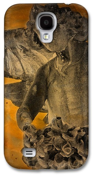 Graveyard Galaxy S4 Cases - Angel of Mercy Galaxy S4 Case by Larry Marshall