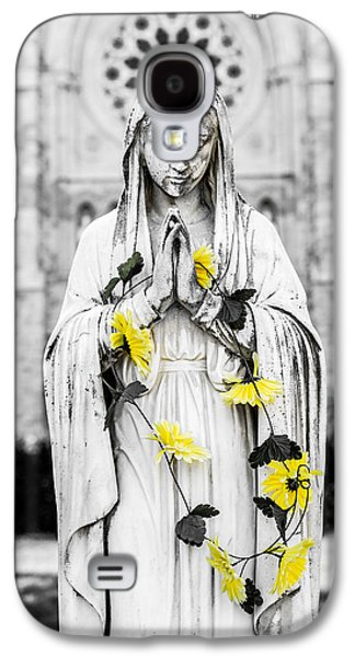 Contemplative Photographs Galaxy S4 Cases - Angel Statue Galaxy S4 Case by Carl Rittenhouse
