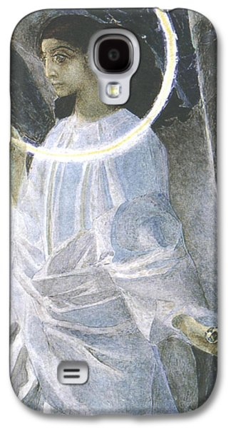 Halo Galaxy S4 Cases - Angel with a Candle Galaxy S4 Case by Mikhail Aleksandrovich Vrubel