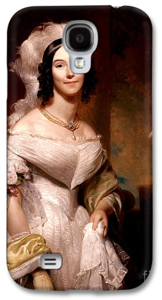 Angelica Van Buren, First Lady Galaxy S4 Case by Science Source