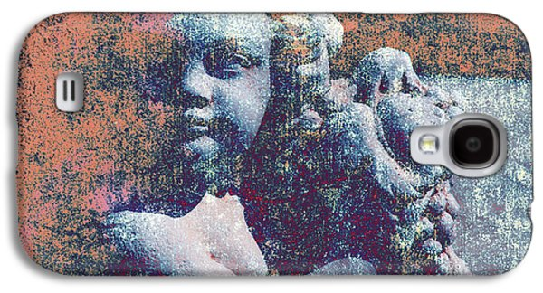 Statue Portrait Galaxy S4 Cases - Angelina Galaxy S4 Case by Susanne Van Hulst