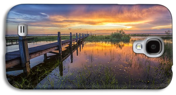 Waterscape Galaxy S4 Cases - Angels of Light Galaxy S4 Case by Debra and Dave Vanderlaan