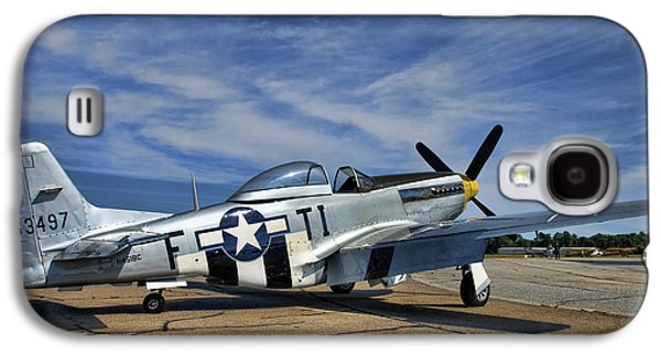 P51 Photographs Galaxy S4 Cases - Angels Playmate  Galaxy S4 Case by Steven Richardson