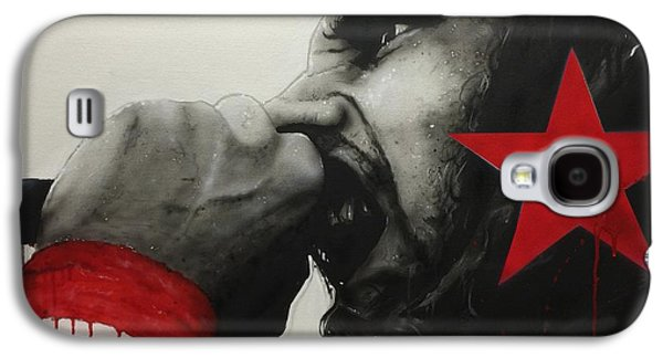Raging Galaxy S4 Cases - Anger is a Gift Galaxy S4 Case by Christian Chapman Art