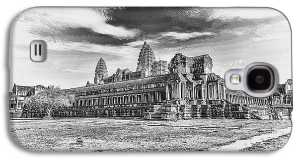 Religious Galaxy S4 Cases - Angkor Wat Temple Siem Reap 3 Galaxy S4 Case by Rene Triay Photography