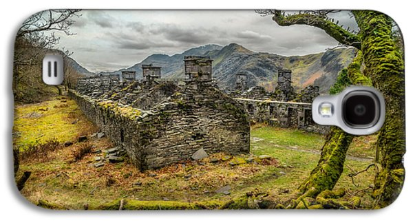 Dilapidated Digital Galaxy S4 Cases - Anglesey Barracks Galaxy S4 Case by Adrian Evans