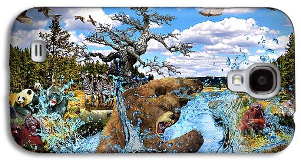 Animal Humor Galaxy S4 Case by Edward Cormier Jr
