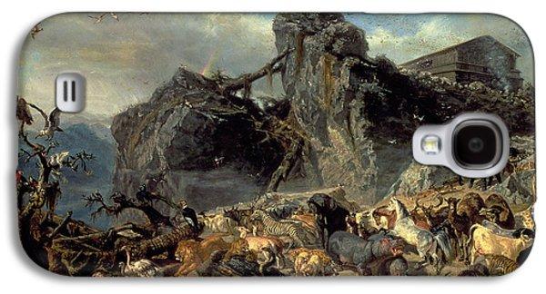 Animals Leaving The Ark, Mount Ararat  Galaxy S4 Case by Filippo Palizzi