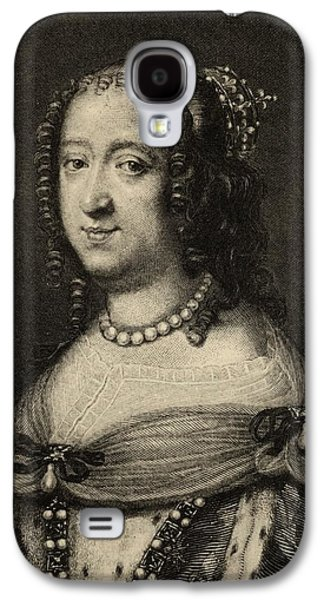 Austria Drawings Galaxy S4 Cases - Anne Of Austria, 1601-1666. Queen Galaxy S4 Case by Vintage Design Pics