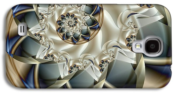 Abstract Digital Digital Galaxy S4 Cases - Anniversary Galaxy S4 Case by Vicky Brago-Mitchell