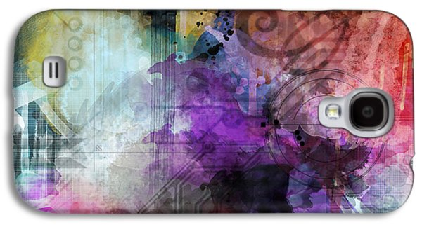 Abstract Digital Paintings Galaxy S4 Cases - Another Realm Galaxy S4 Case by Lindsey Cormier