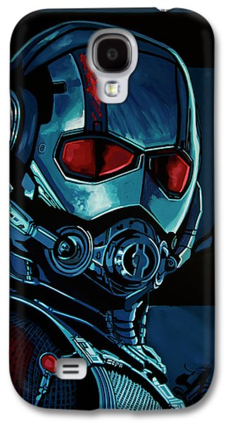 Ant Man Painting Galaxy S4 Case by Paul Meijering