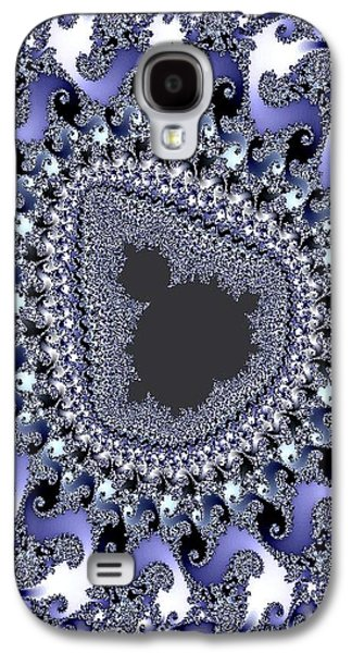 Abstract Digital Pastels Galaxy S4 Cases - Antartica Ice V b Galaxy S4 Case by Gert J Rheeders