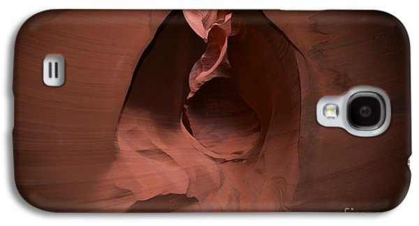 Landmarks Photographs Galaxy S4 Cases - Antelope Canyon Architecture Galaxy S4 Case by Shawn Dechant