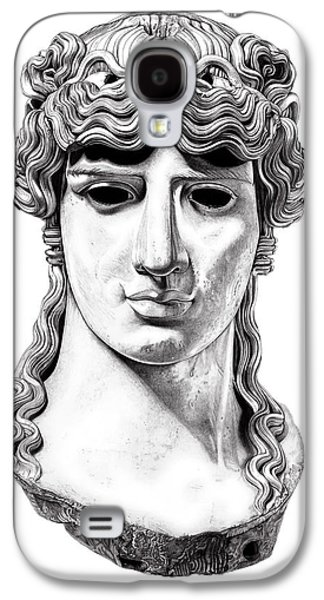 Bust Sculptures Galaxy S4 Cases - Antinous _ V1 Galaxy S4 Case by Bruce Algra