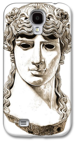 Bust Sculptures Galaxy S4 Cases - Antinous _ V2 Galaxy S4 Case by Bruce Algra