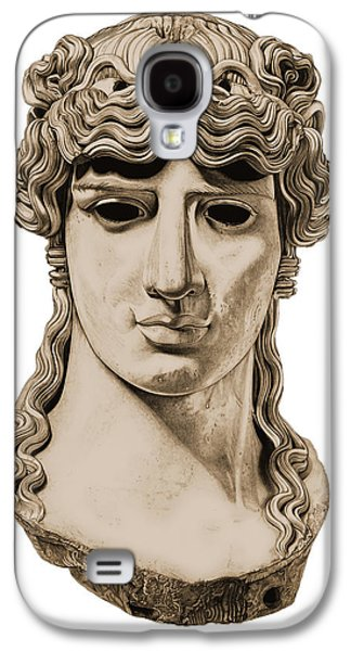 Bust Sculptures Galaxy S4 Cases - Antinous _ V3 Galaxy S4 Case by Bruce Algra