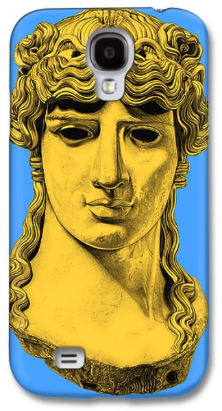 Bust Sculptures Galaxy S4 Cases - Antinous _ V4 Galaxy S4 Case by Bruce Algra