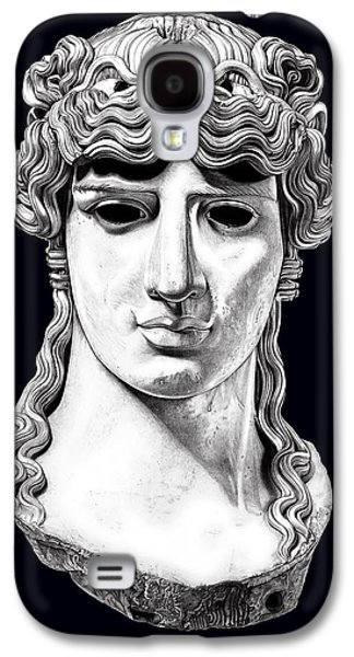 Bust Sculptures Galaxy S4 Cases - Antinous _ V5 Galaxy S4 Case by Bruce Algra