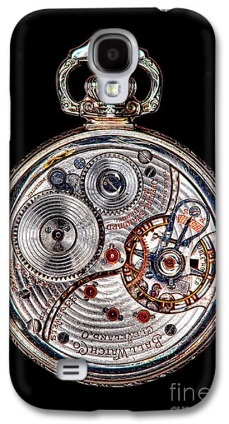 Mechanism Galaxy S4 Cases - Antique Ball Railroad Watch Movement  Galaxy S4 Case by Olivier Le Queinec