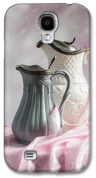 Water Jug Galaxy S4 Cases - Antique Jugs Galaxy S4 Case by Amanda And Christopher Elwell