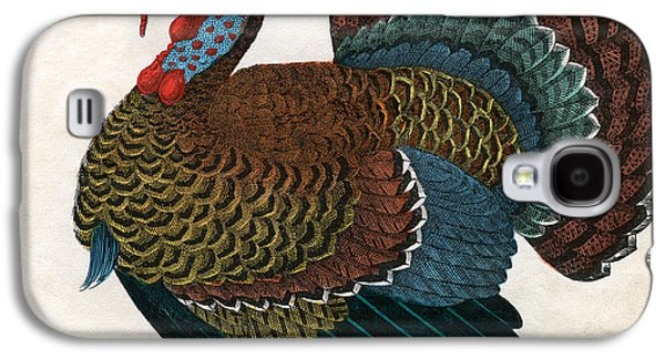 Antique Print Of A Turkey, 1859  Galaxy S4 Case by American School