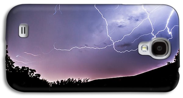 Creepy Galaxy S4 Cases - Anvil Crawlers at Night Galaxy S4 Case by Shelby  Young