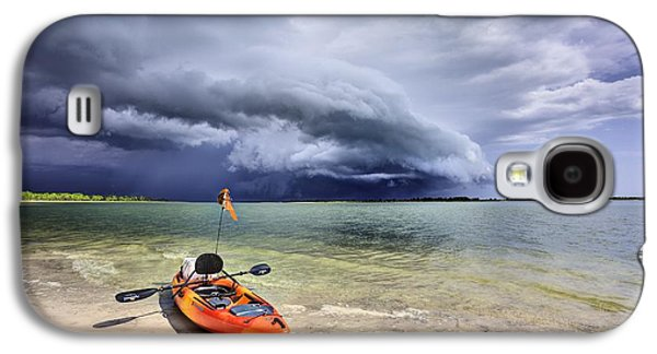 Panama City Beach Galaxy S4 Cases - Any Port in a Storm Galaxy S4 Case by JC Findley