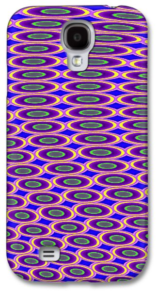 Digital Tapestries - Textiles Galaxy S4 Cases - Anyone Lose a Contact Lens? Galaxy S4 Case by Suzi Freeman
