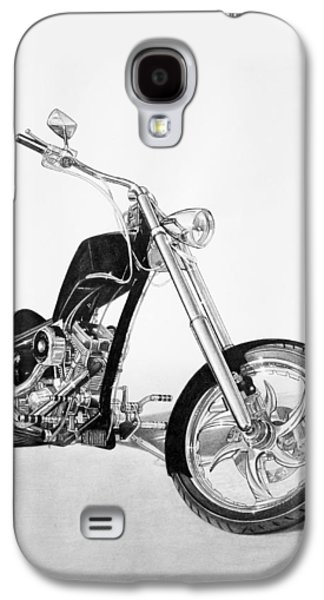 Drawing Galaxy S4 Cases - Apollo Chopper Galaxy S4 Case by Tim Dangaran