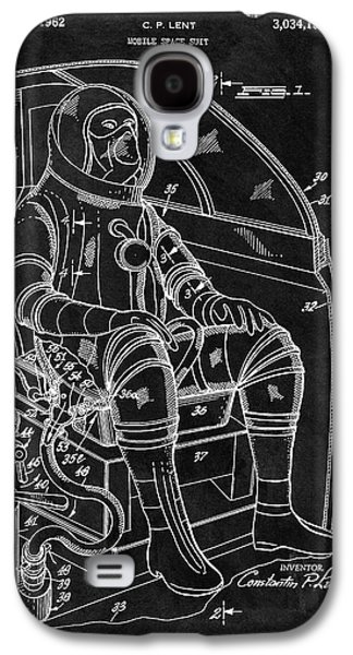 Apollo Space Suit Patent Galaxy S4 Case by Dan Sproul