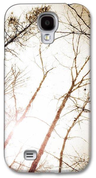 Sunset Abstract Galaxy S4 Cases - Appalachian Sun - 2  Galaxy S4 Case by Anita Faye