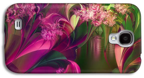 Dreamscape Galaxy S4 Cases - Apple Peel Brook Galaxy S4 Case by Mindy Sommers