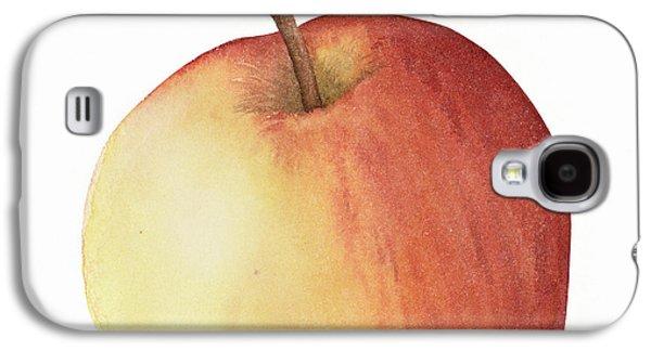 Apple Watercolor Galaxy S4 Case by Taylan Soyturk