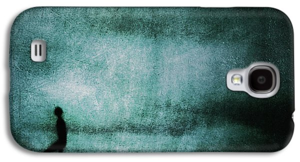 Alone Digital Art Galaxy S4 Cases - Approaching Dark Galaxy S4 Case by Andrew Paranavitana