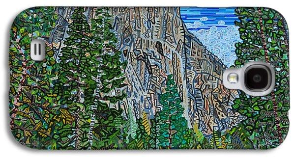 El Capitan Paintings Galaxy S4 Cases - Approaching El Capitan Yosemite National Park Galaxy S4 Case by Micah Mullen