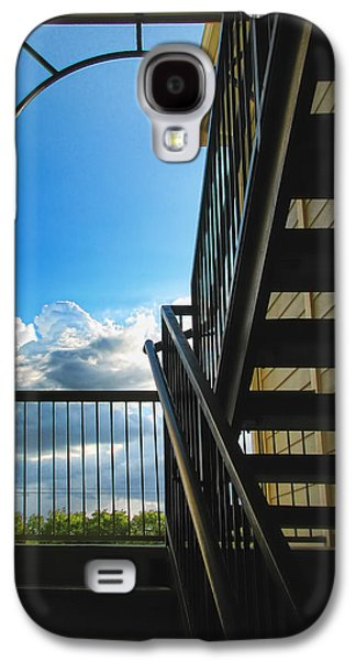 Art166 Galaxy S4 Cases - Approaching Paradise Galaxy S4 Case by Wendy J St Christopher