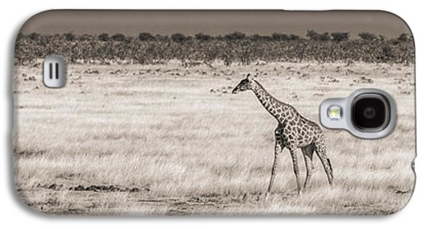 Grass Galaxy S4 Cases - Approaching The Waterhole Galaxy S4 Case by Duane Miller